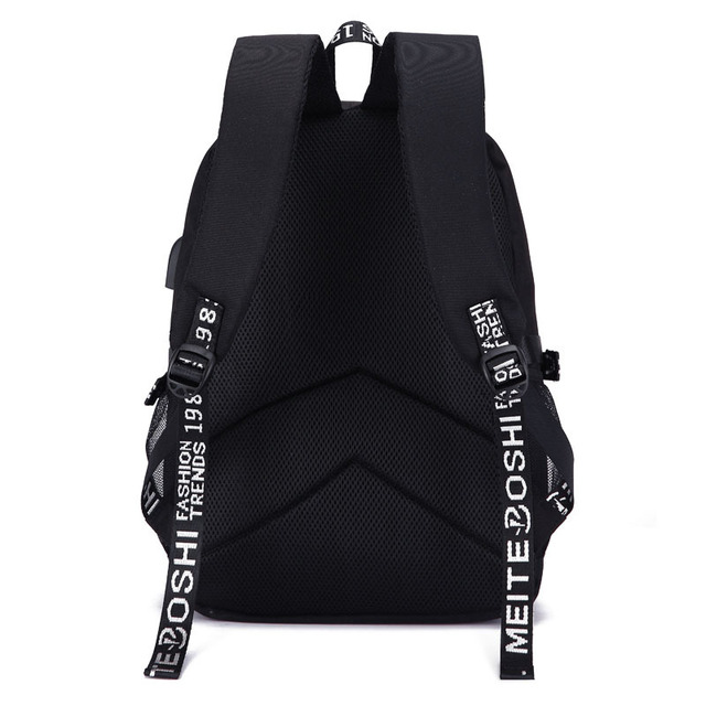 BTS BACKPACK WITH USB (2 VARIAN)