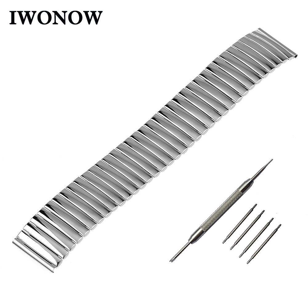 Stainless Steel Watch Band 20mm 22mm 24mm for Diesel Elastic
