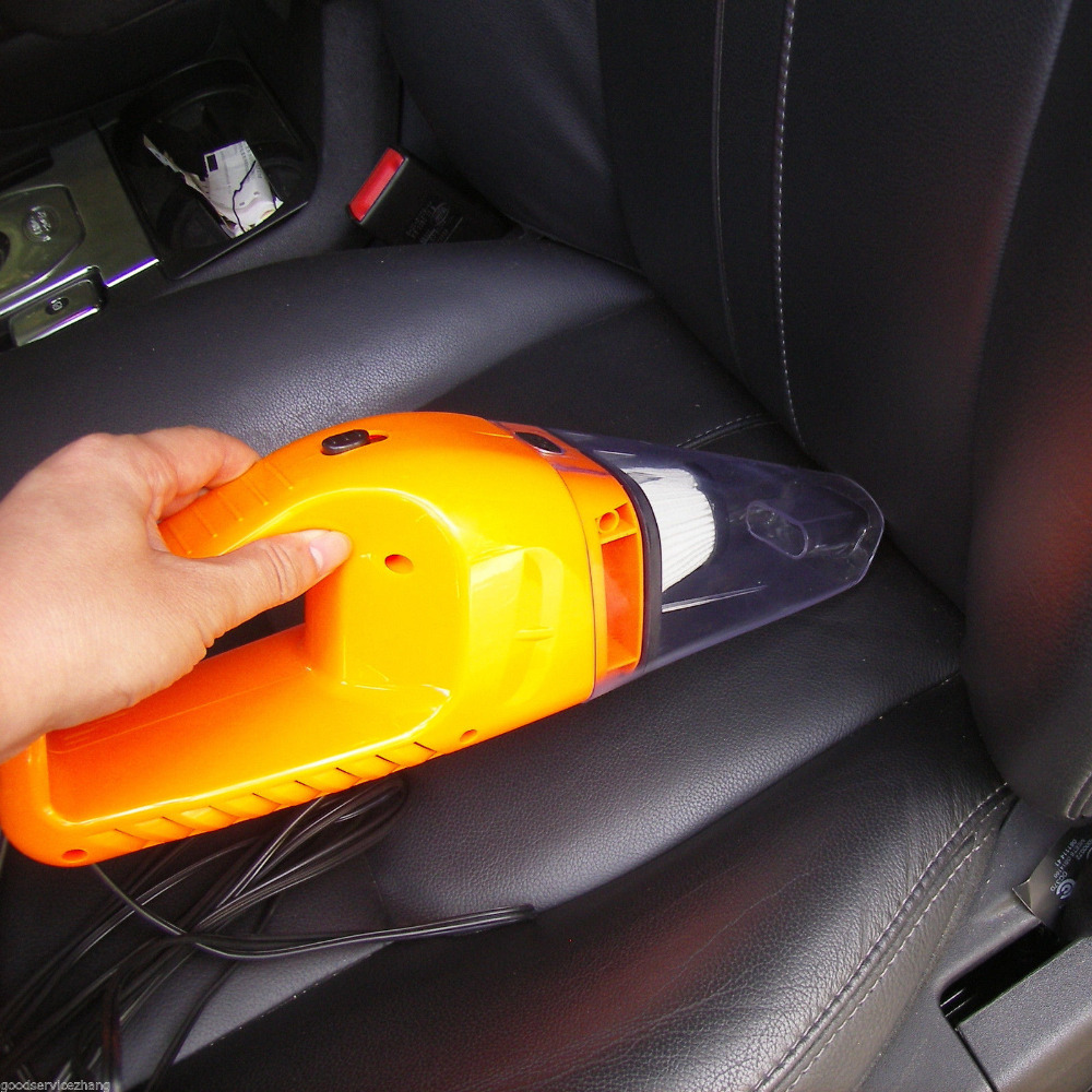Car Vacuum Cleaner Wet&Dry Portable Super Auto Dust Hand Vac Pet Hair Crumbs Cleaner Cyclone 120W 4000PA with 5 Meter Cable 12v