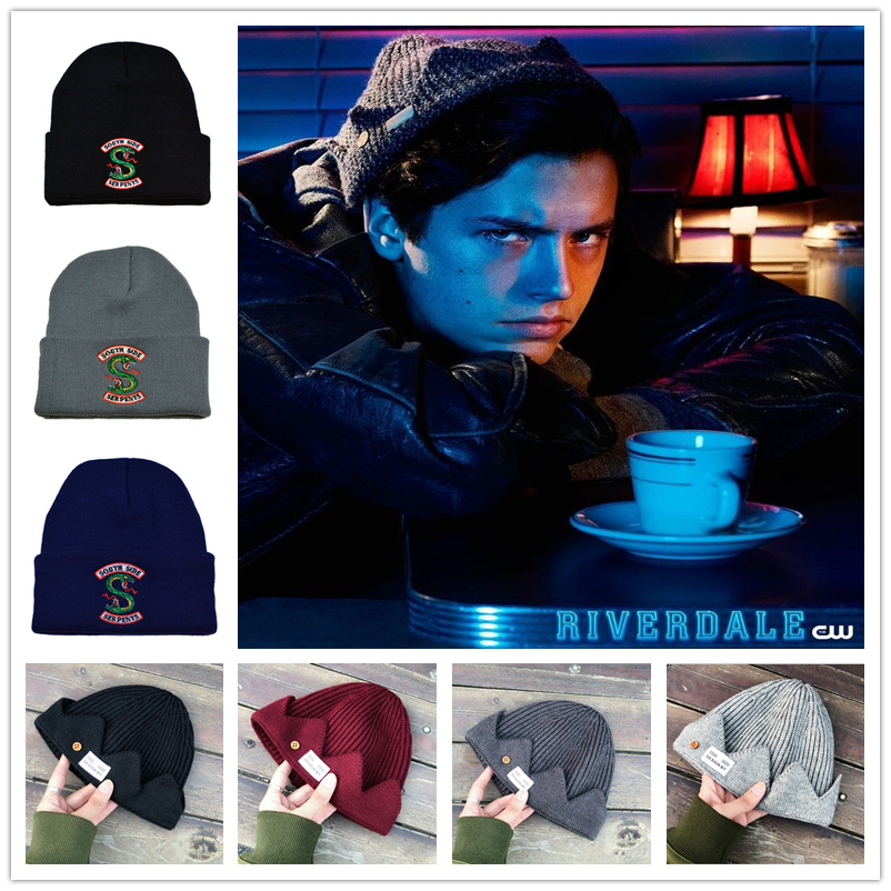 Riverdale Knitted Cap Cosplay Jughead Skullcap Jones Hat Winter Warm Beanie US