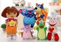 Free Shipping 25/35/45CM Dora Explorer  Plush Toys Dora Doll Monkey Doll For Children's Toys 1pcs
