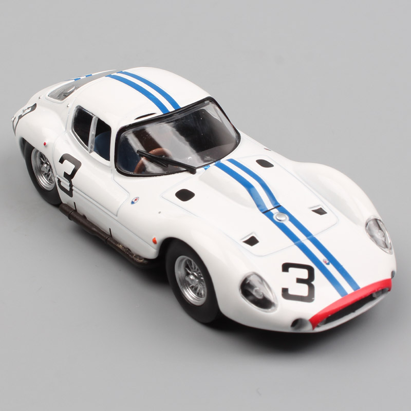 Children LEO 1:43 Scale Tipo 151 24h Le Mans 1962 Thompson NO.3 Kimberly Endurance Racing Cars Diecast Model Toy For Collectible