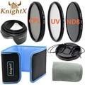 KnightX камеры Окончил ND Фильтр Комплект Для Pentax Sony Nikon d3200 d5200 d3300 d5100 d3000 Canon 750d t5 500d 400d 70d 49 52 ММ