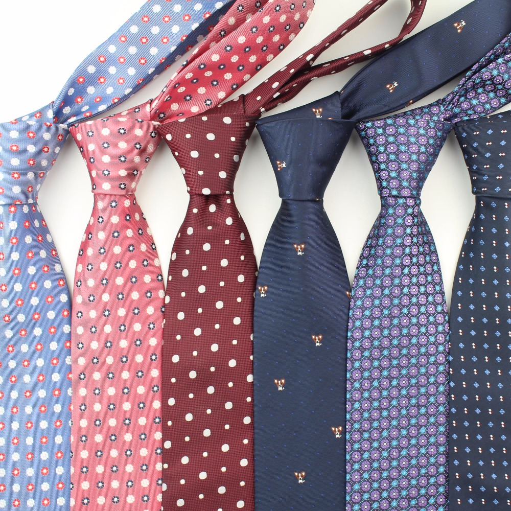 Formal Standard Size Necktie Groom Gentleman Ties Men Design Party Polyester Gravata Slim Arrow 8cm Silk Tie