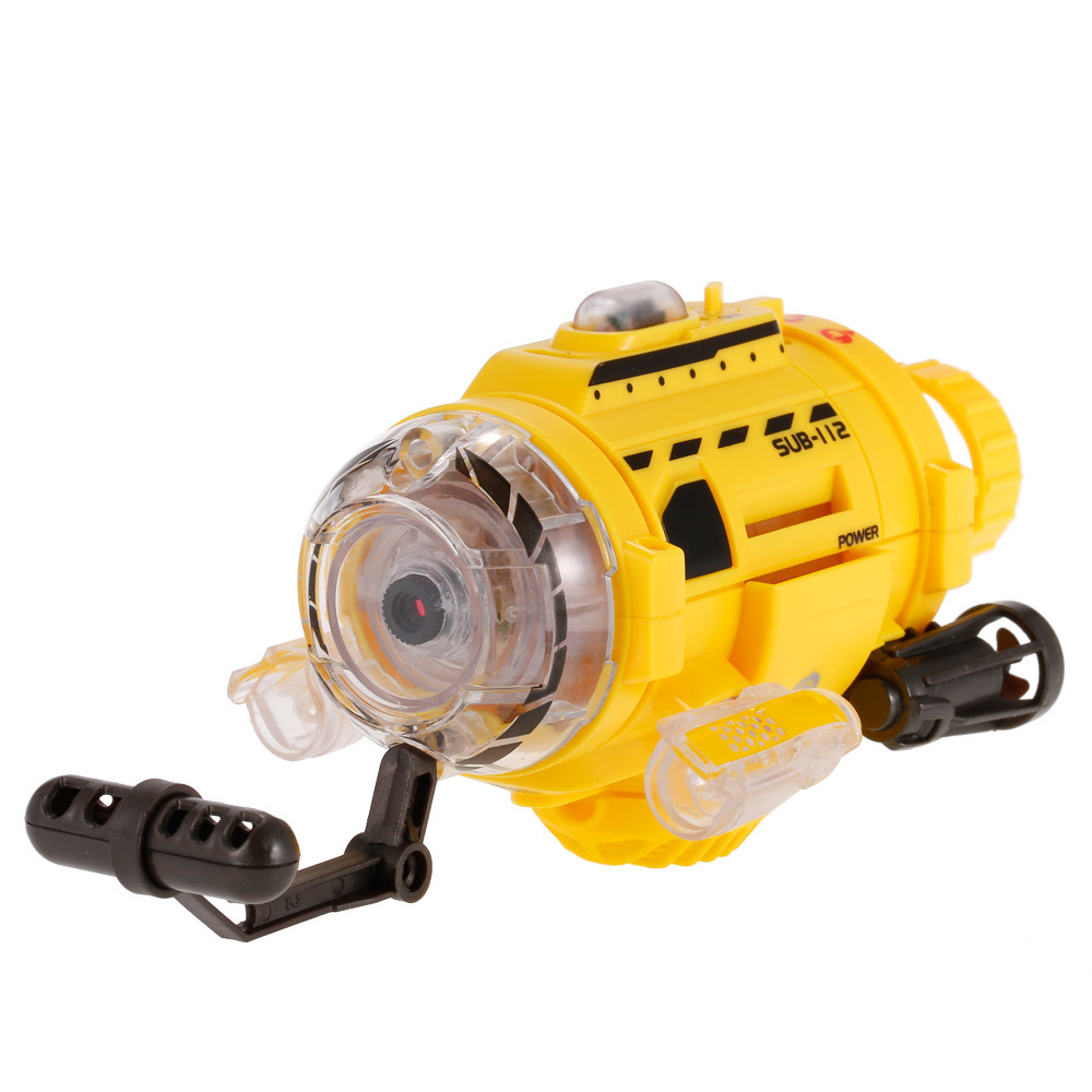 Vereinigt Infrarot Control Aqua Rc Submarine Mit 0.3mp Kamera Und Licht Rc Spielzeug Für Kinder Fernbedienung Submarine Fernbedienung Spielzeug