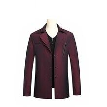 9XL 8XL 7XL autumn big yards casual windbreaker, men's Lapel youth, plus fat XL jacket, thin Korean version, free postage