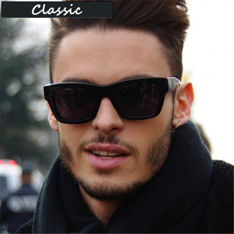 High Quality Classic Sunglasses Men Brand Designer UV400 Vintage Outdoor Mirror Sunglass Male Sun Glasses For Men Sunglass 2019