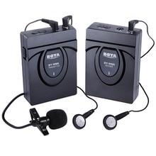 BOYA BY-WM5 беспроводной микрофон передатчик в приемнике 2,4 ГГц GFSK супер анти-помех Динамик для наушников лук галстучный микрофон