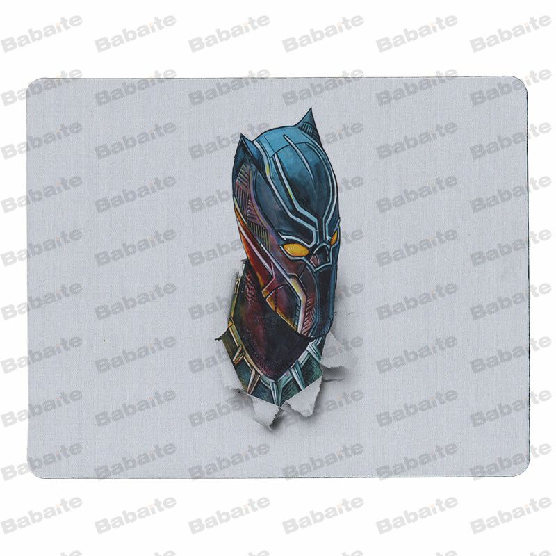 Babaite My Favorite Black Panther Large Mouse pad PC Computer mat Size for 18x22cm 25x29cm Rubber Mousemats