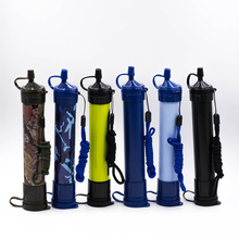 цена на Camping Hiking Emergency Life Survival Portable Purifier Water Filter Straw Gear Safety & Survival 2019 Essential Outdoor Tools