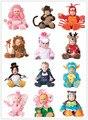 Рождество малышей Детские Младенческой монстр животных onesie Животных Косплей плюшевые Формы Костюм Фантазия карнавальный наряд