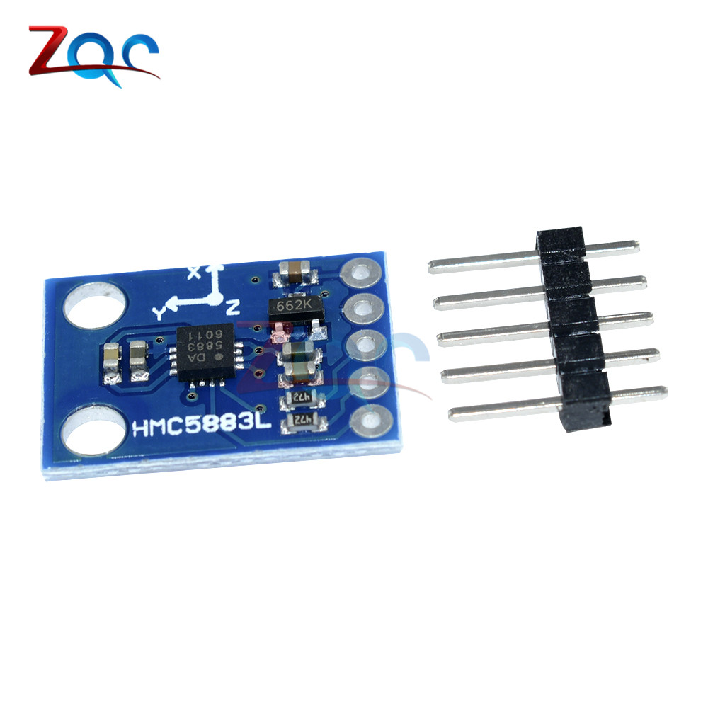 Gy 273 Dc 3v 5v Hmc5883l Triple Axis Compass Magnetometer Sensor Electromagnetic Field Detector Circuit Ua741 Module Three Magnetic For Arduino In Pressure Sensors From Tools On