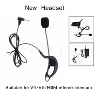 Vnetphone Helmet Headsets Headset And Coach Referee Bluetooth Headsets Headphones For V4 V6 FBIM Earphone Referee