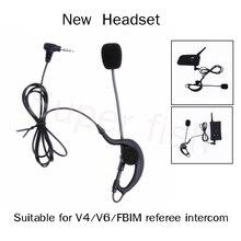 Vnetphone шлем гарнитуры и тренер рефери bluetooth гарнитуры наушники для V4/V6/fbim наушники судья микрофон
