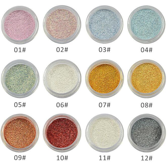 Lidschatten Glitter Einzelne Lidschatten Nassen 1 stücke Augen Charme Make-Up Glanz Lidschatten suite Net 4g