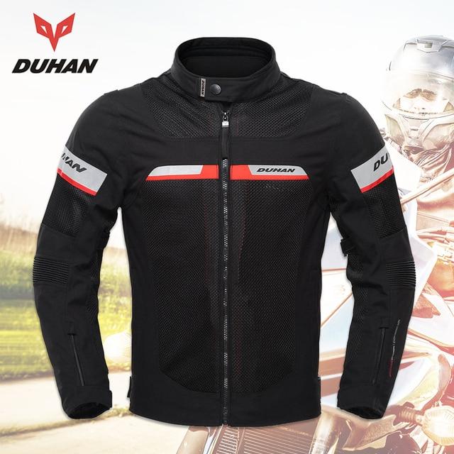 7a8b2a9caa8 Chaquetas de Moto DUHAN para hombre de verano chaquetas de Moto  impermeables transpirables para hombre chaqueta