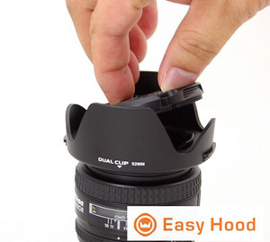 Image 3 - Universal Lens Hood Size 52mm 55mm 58mm 62mm 67mm 72mm 77mm 82mm Suitable for Most Camera Models Drop Shipping