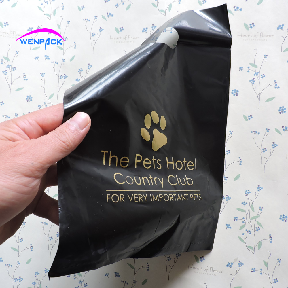 20x30cm custom printed logo shopping gift plastic packaging bag for fashion and promotion 200pcs