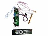 New Z VST 3463 DVB C DVB T DVB T2 LCD Controller Board For LP173WD1 TL