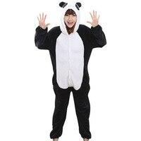 Adults Women Onesie Lovely Panda Pajama Animal Cartoon Fashion Casual Party Costume Lady Girl Jumpsuit Winter