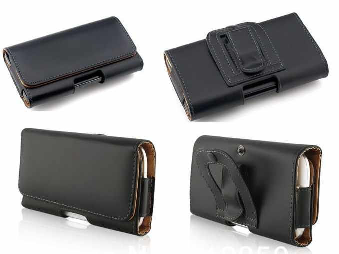 Leather Pouch Holster Belt Clip Case Holder For Nokia N97 Mini Nokia C1 C2-01 C5-03 C6 700 For Nokia X6 5233 6700 7230 5330 2690