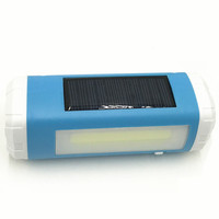 Al aire libre Mini USB LLEVÓ La Linterna Solar/luces laterales + Bluetooth tarjeta DEL TF audio player + Iluminación LED