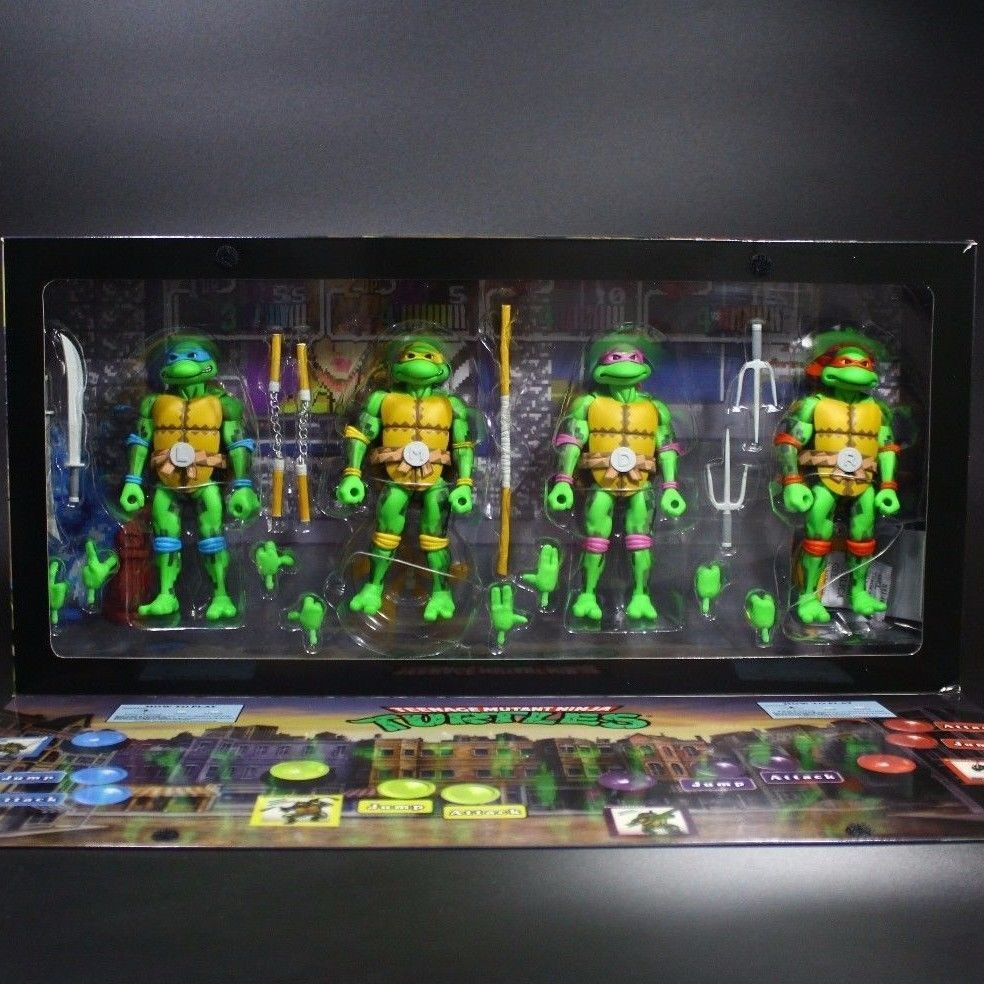 NECA SDCC 2016 Ninja Teenage Mutant TMNT Action Figure Exclusive Anime Figure Collectible Model Toy Turtle