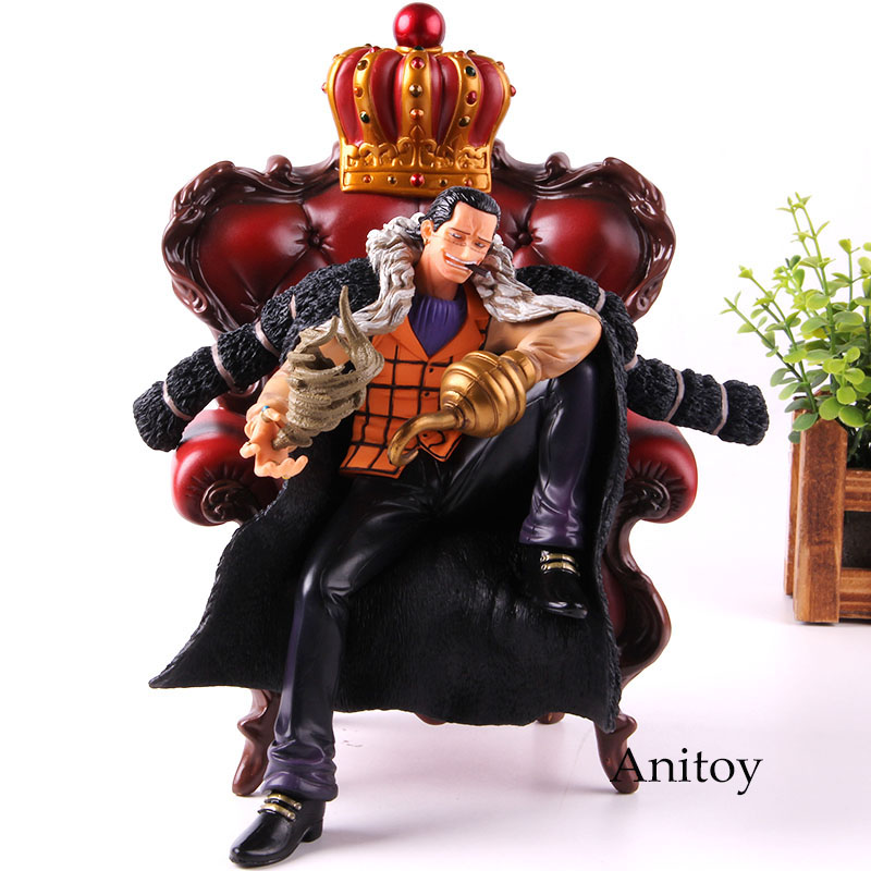 Figurine POP une pièce Sir Crocodile Mr.0 avec canapé PVC Anime Collection modèle jouet Crocodile cadeau pour les enfants