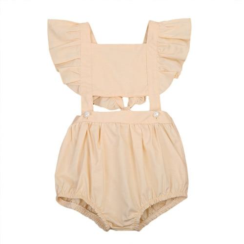 От 1 до 5 лет, летняя одежда для малышей для маленьких девочек хлопковый комбинезон, спортивный костюм, костюм пляжного типа, комплект одежды ...