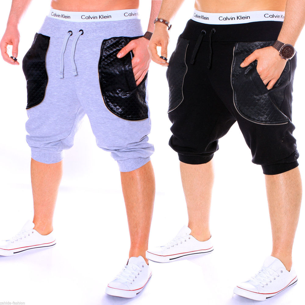 ZOGAA Men Sweatpants Casual Shorts Active Wear Designer Clothes Joggers Workout For Gym Sports