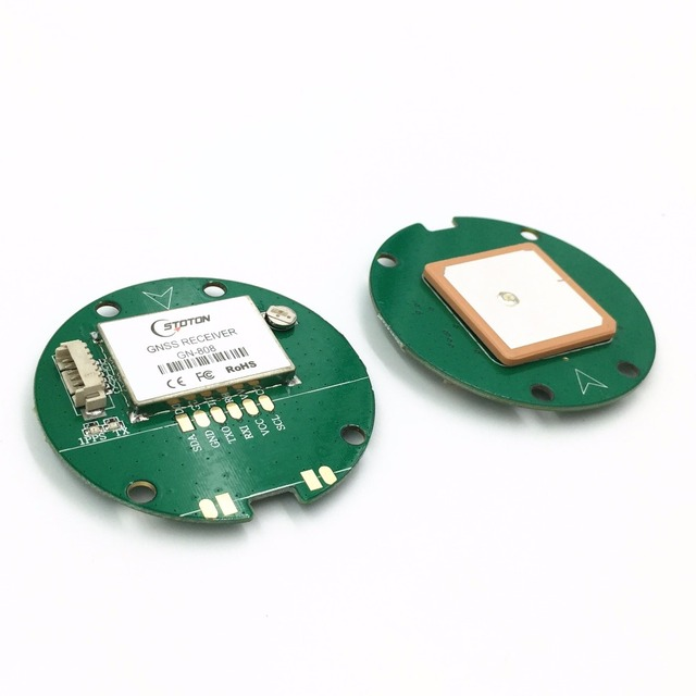 Use NEO M8N GNSS chip Design GPS Module,GPS GLONASS Dual mode Support 5  10HZ output UART TTL level,-in GPS Receiver & Antenna from Automobiles &