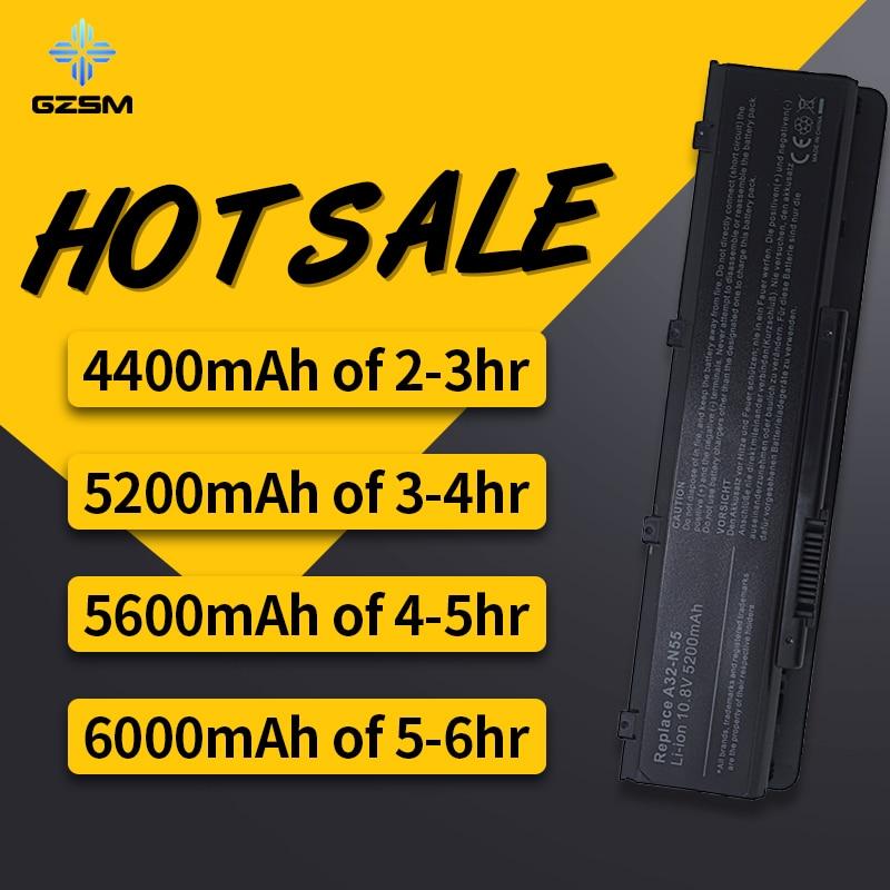 HSW New Laptop Battery for Asus A32 N55 N45 N45SF N55E N75S N45E N45SJ N55S N75SF N45F N45SL N55SF N75SJ N45J N45SN N55SL N75SL in Laptop Batteries from Computer Office