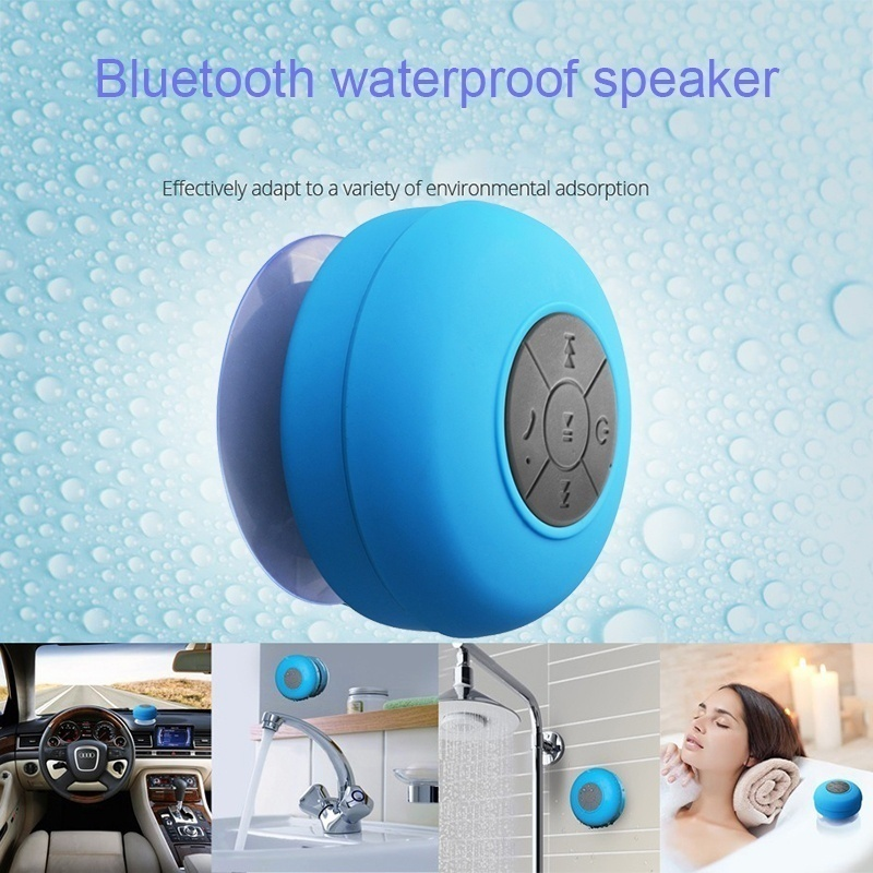 EHEH Potable wireless bluetooth speakes Mini waterproof speaker for iphone android MP3 Handfree car speaker sucker rechargeable