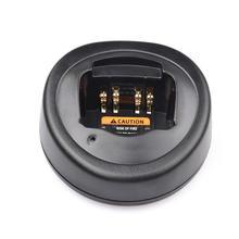 Battery Charger Base For Motorola Radio  GP328 GP340 GP338 PRO5150 Interphone  Walkie Talkie