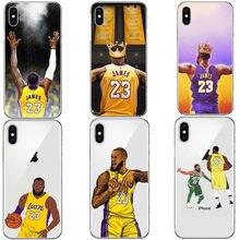 quality design 65665 5152f Re LeBron James Los Angeles Lakers 23 Molle del silicone Coque Custodie  Della Copertura Del Telefono