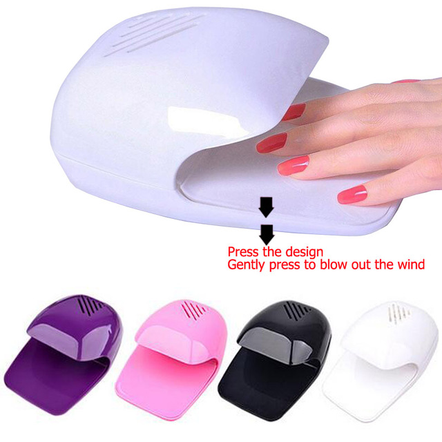 2017 New Mini Portable Professional Fan Nail Dryer For Curing Nail ...