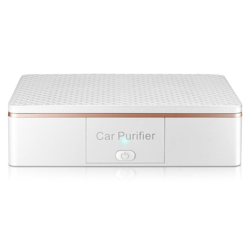 Purificador de aire del coche ambientador portátil Usb limpiador Auto Fresh Air Anion Lonic purificador oxígeno Bar ozono ionizador Interior Accessor