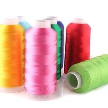 Тонкое 120D вискозное волокно, нить для вышивки, нить для вышивки, ручная ультратонкая мягкая гладкая шелковая нить с кисточками
