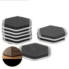 20 шт мебель слайдер колодки грузчики пол протектор ковровая плитка дерево EVA PP