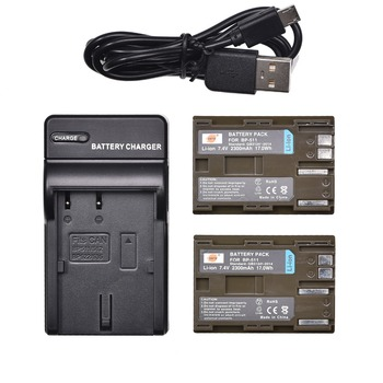 DSTE 2x bp-511 BP511A Battery with USB Charger for Canon DM-MV30,DM-MV100X,DM-MV100Xi,DM-MV400,DM-MV430,DM-MV450,DM-MVX1i,ZR65MC фото