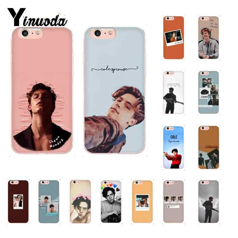 Yinuoda Cool Riverdale cole sprouse Jughead Jones Luxury Unique Phone Case for iPhone 6S 6plus 7 7plus 8 8Plus X Xs MAX 5 5S XR