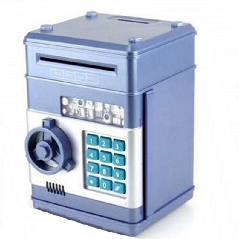 Portable Safety  Mini Piggy  Bank And Security Money Jewelry Storage Collection Box Home Office Security Storage Box DHZ015