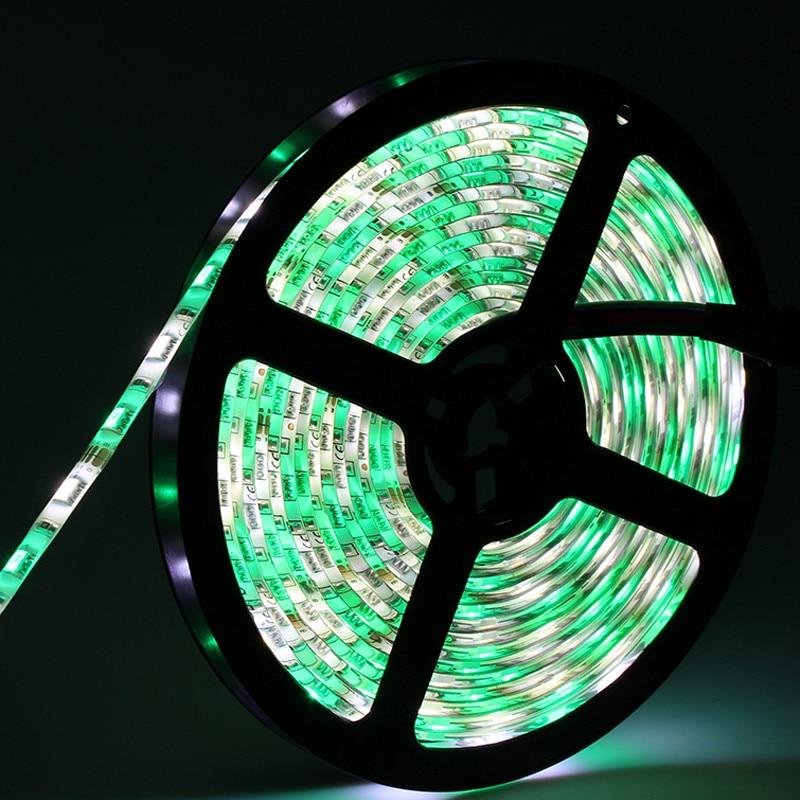 20M SMD 5050 RGBW RGBWW LED Strip IP65 Silikon Suya davamlı 60LED / - LED işıqlandırma - Fotoqrafiya 5