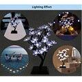 New Arrival Mini 2W 150LM 32LEDs Plum Blossom LED Flower Tree Light Christmas Wedding Party Garden Decoration Lamp Luminous