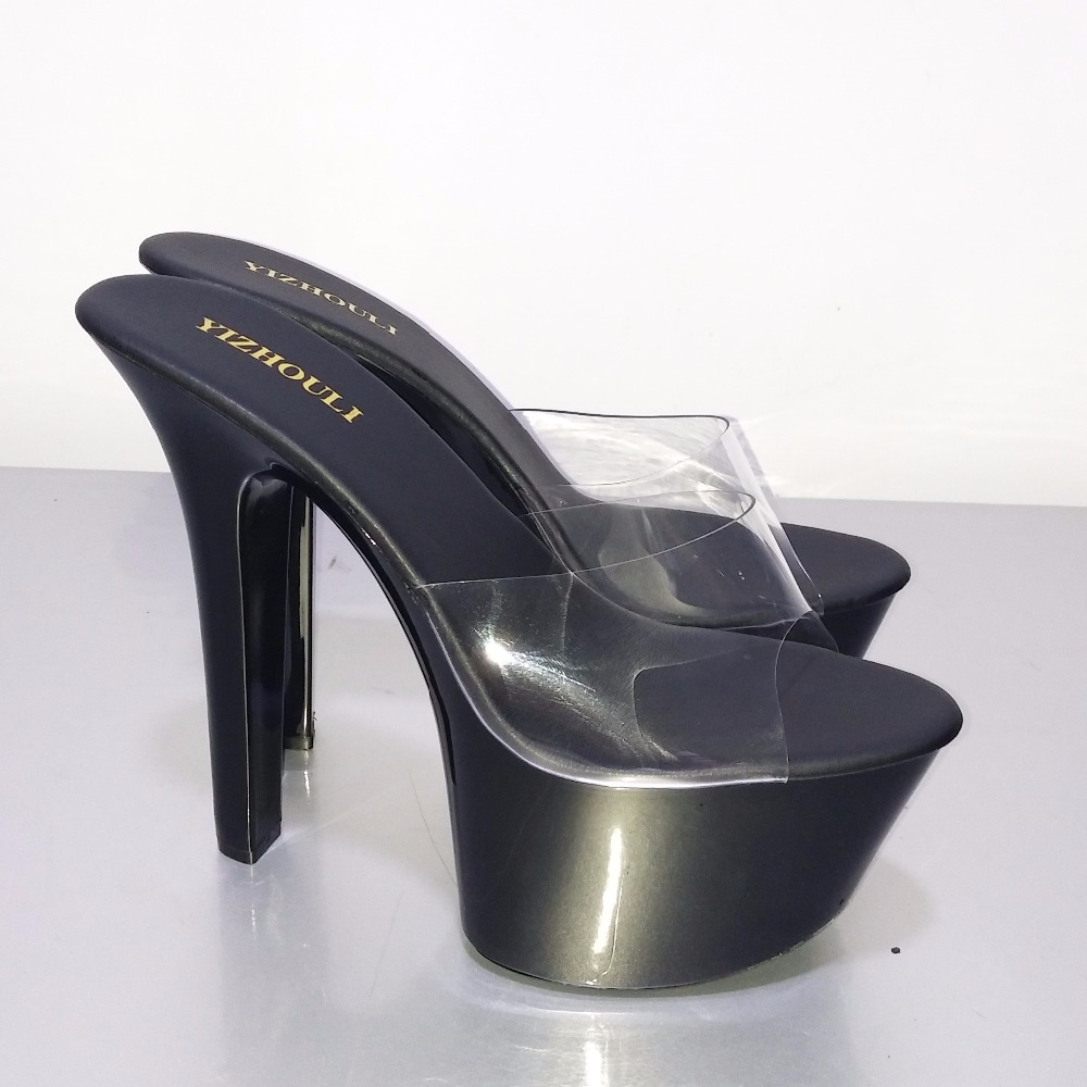 b76cffaf44c948 ... 7 Inch Stiletto With Platform Shoes Clear Stripper Shoes Sexy. sku   32621589316