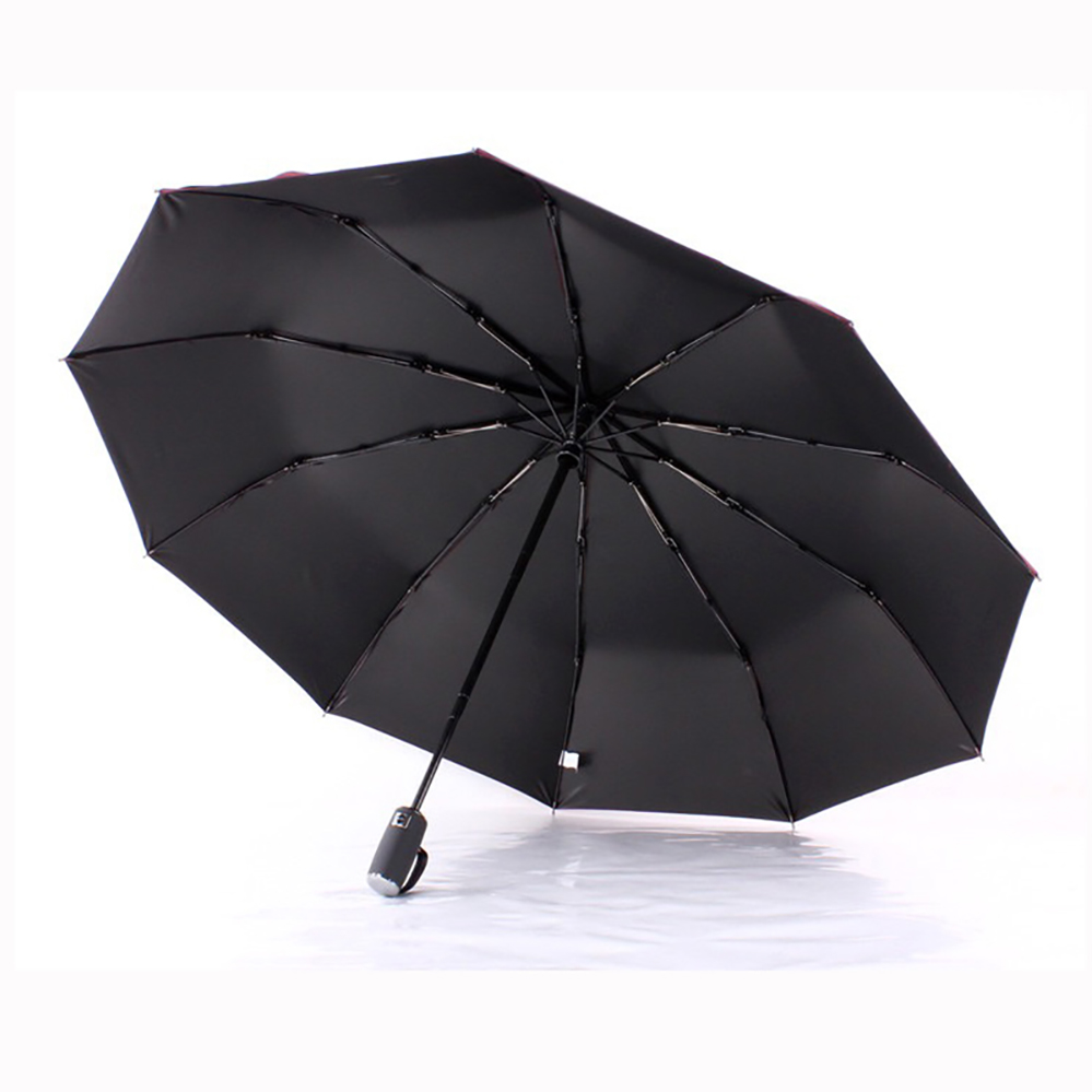 JESSE KAMM Fully Automatic Strong Compact Folding Rain Shine Umbrellas For Women Men Fashion 2017 Anti UV Windproof Hot Sale in Umbrellas from Home Garden