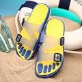 Sandalias 2017 Sandalias de Los Hombres de Calidad superior Zapatos de Playa Flip Flop Zapatillas de Verano de Los Nuevos Hombres Al Aire Libre Sapatos Hembre Sapatenis masculino