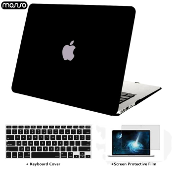 MOSISO Crystal\Matte Laptop Case For Apple macbook Air Pro Retina 11 12 13 15 Laptop Bag for macbook Air 13 case +Keyboard Cover цена 2017
