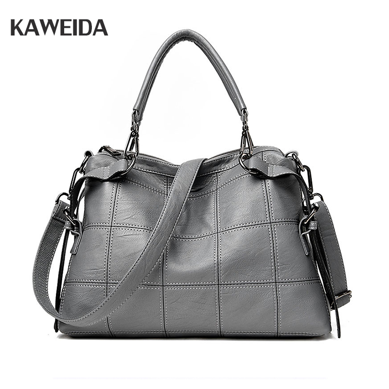 Real Genuine Leather Handbags Women Casual Shoulder Bag Brand Designers Hand Bags european Style Crossbody Messenger Bags free shipping hot top real leather bags women leather handbags designers original brand shouler messenger bags size 50 38 15cm