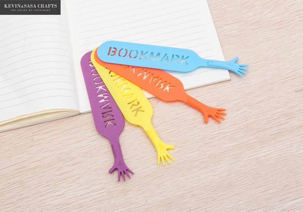 Dinosaurs Bottle cap Planner Clips Bookmarker Set of Four